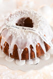 Delicious Christmas bundt Royalty Free Stock Image