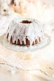 Delicious Christmas bundt Royalty Free Stock Photos