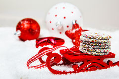 Delicious Christmas chocolate cookies Royalty Free Stock Photography