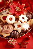 Delicious Christmas cookies Stock Image