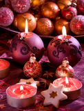 Delicious Christmas cookies Stock Photos