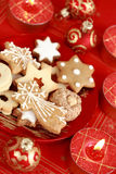 Delicious Christmas cookies Royalty Free Stock Image