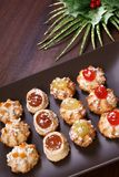 Delicious christmas pastries Royalty Free Stock Photography