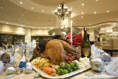 Delicious christmas turkey Royalty Free Stock Image