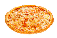 Delicious classic Hawaiian Pizza with chicken, pineapple, oregano and cheese Royalty Free Stock Image