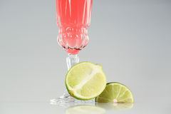 Delicious cocktail. Delicious great cocktail in studio Royalty Free Stock Image