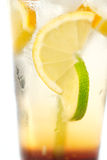 Delicious cold lemonade Royalty Free Stock Image
