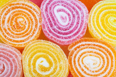 Delicious colorful candies background Royalty Free Stock Photo