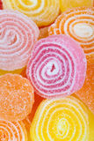 Delicious colorful candies background Stock Photography