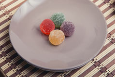 Delicious colorful marmalade Royalty Free Stock Photos