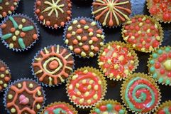 Delicious colorful sweets Stock Photo