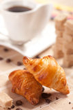 Delicious continental breakfast Royalty Free Stock Images