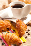 Delicious continental breakfast Stock Images