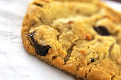 Delicious cookie for breakfast or snack Royalty Free Stock Images