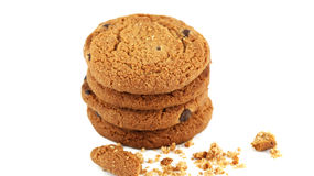 Delicious cookies. Cookies morning before going to work Royalty Free Stock Images