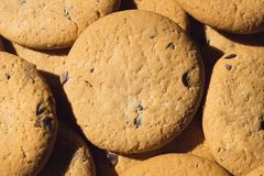 delicious cookies on your table royalty free stock images