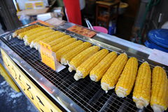 Delicious corn bbq Royalty Free Stock Photography