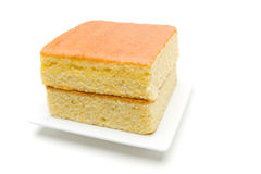 Delicious corn bread. Angled view of a stack of cornbread Stock Images