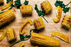 Delicious corn Royalty Free Stock Images
