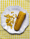 Delicious corn Royalty Free Stock Photo