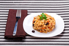 Delicious couscous Royalty Free Stock Photos