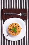 Delicious couscous Royalty Free Stock Photos