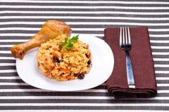 Delicious couscous Stock Images