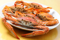 A delicious crab Stock Images