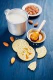 Delicious crackers Stock Photos