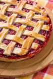 Delicious cranberry and apple pie Royalty Free Stock Images