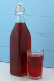 Delicious cranberry juice Stock Images