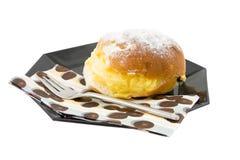 Delicious cream sandwich Royalty Free Stock Photo
