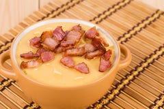 Delicious cream soup Royalty Free Stock Photos