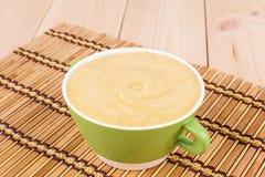 Delicious cream soup Royalty Free Stock Photo