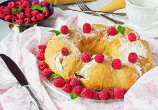 Delicious cream tart Royalty Free Stock Photography