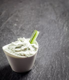 Delicious creamy vinaigrette sauce Stock Images