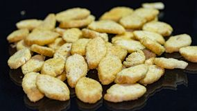 Delicious crispy crackers for beer Royalty Free Stock Image