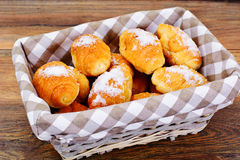 Delicious Crispy French Croissants Royalty Free Stock Photos