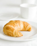 Delicious croissant Stock Photos