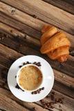 Delicious croissant Stock Image