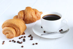 Delicious croissants Royalty Free Stock Photos