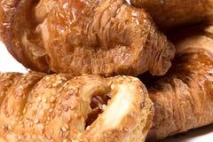 Delicious croissants pastries Stock Photography