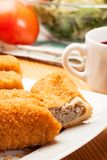 Delicious croquettes Royalty Free Stock Photography