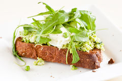 Delicious crostini Stock Images