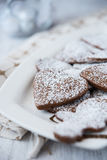 Delicious and crunchy cookies Stock Image