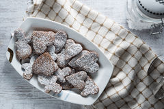 Delicious and crunchy cookies Royalty Free Stock Photo