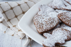 Delicious and crunchy cookies Stock Photography