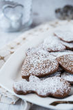 Delicious and crunchy cookies Stock Photos