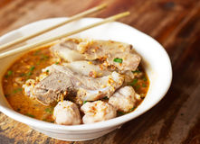 Delicious cuisine thai noodle Stock Photography