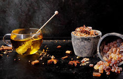 Delicious cup of aromatic spiced tea Stock Photography